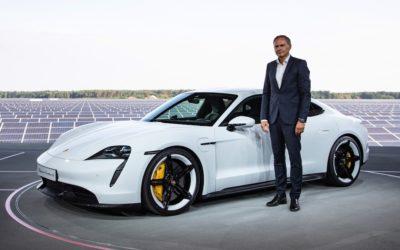 Weltpremiere des Porsche Taycan: Sportwagen, nachhaltig neu gedacht