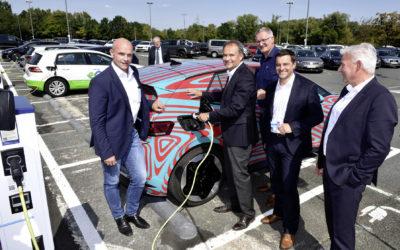 Volkswagen installiert 4.000 Ladestationen für Elektroautos