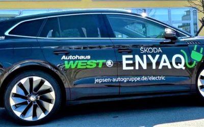Energielösung – Erste Fahrt im Skoda Enyaq iV 80