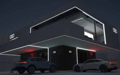 Audi lässt aufhorchen – Luxusladestationen ab 2024