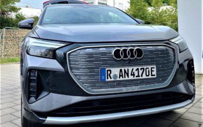 So fährt sich der neue Audi Q4 E-tron 35 – energielösung auf Probefahrt!
