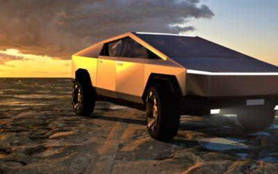 Der neue Cybertruck von Tesla – futuristisch und praktisch zugleich