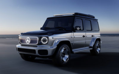 Zurück in die Zukunft: Mercedes präsentiert den EQG