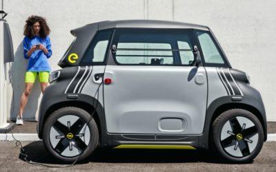 Opels modischer Mini-Stromer: der Rocks-e