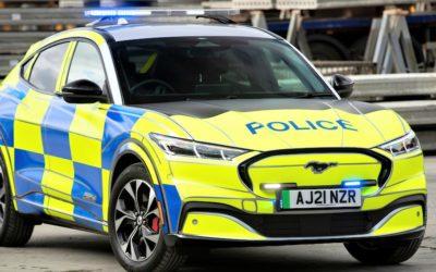 Ford Mustang Mach-E als Polizei-Auto: Vielversprechende Tests und Entwicklung