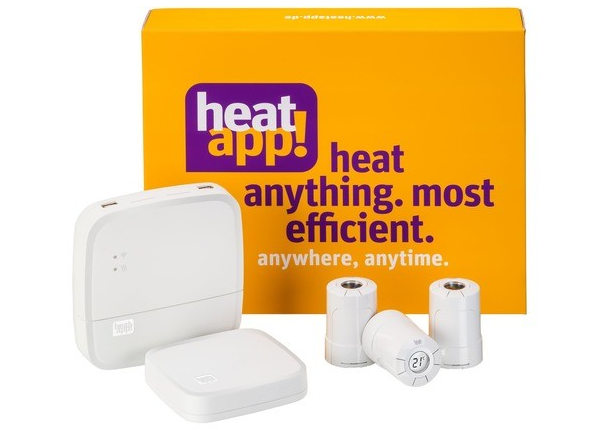 heatapp! Smart Home Starter-Set Wandheizkörper