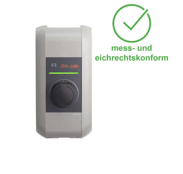 KEBA Wallbox KeContact c-series Typ 2 (bis 22 kW) M&E front