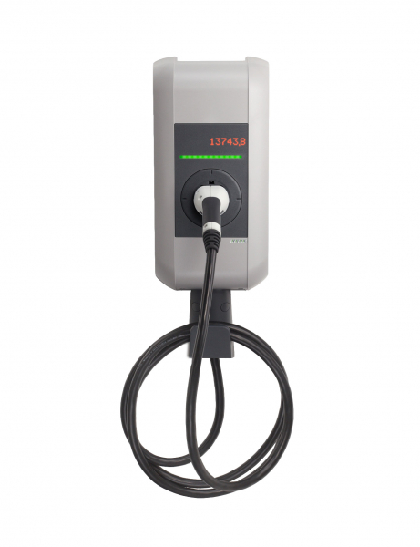 KEBA Wallbox KeContact c-series Typ 2 (22 kW) mit Typ 2-Ladekabel