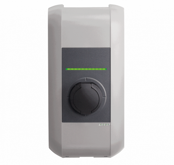 KEBA Wallbox KeContact e-series Typ 2 (4,6 kW) front