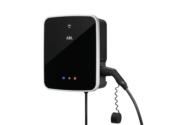 ABL Wallbox eMH3 Single (22 kW) mit Typ 2 Ladekabel