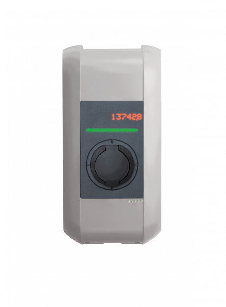 KEBA Wallbox KeContact c-series Typ 2 (bis 22 kW) front